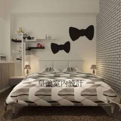 Dormitorios pequeños de estilo  por 皇美室內空間創意設計 , Minimalista