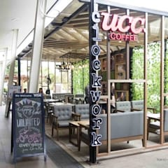 UCC CLOCKWORK IN NUVALI:  Commercial Spaces by Tokyo Grand Renovation, Modern