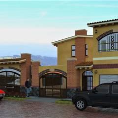 Caballerizas Familia Fabela: Casas de estilo  por MARQ. Arquitectos., Rústico Ladrillos