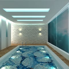 Swimming Pool:  Pool by De Panache  - Interior Architects,Modern