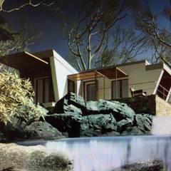 Rumah pasif oleh MASSIMO CALOSI, Modern