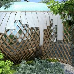 Extensão do Museu do Meio Ambiente do Jardim Botânico do Rio de Janeiro: Escritórios e Espaços de trabalho  por Viviane Cunha Arquitectura,Moderno
