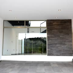 Casa HR: Garajes abiertos de estilo  por lcr arquitectos, Moderno