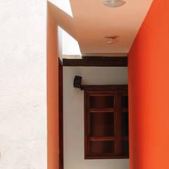Puertas de madera de estilo  por Valdez Arquitectos , Moderno