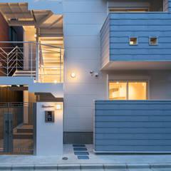 Casas de estilo  por 株式会社小木野貴光アトリエ 級建築士事務所, Escandinavo Pizarra