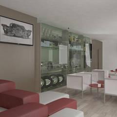 Exhibition centres by Daniele Piazzola architetto e designer a Como, Modern