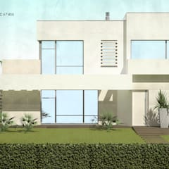 Prefabricated home by ATELIER OPEN ® - Arquitetura e Engenharia, Minimalist آئرن / اسٹیل