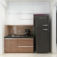 Kitchen units by The inside stories - by Minal, Minimalist Plywood