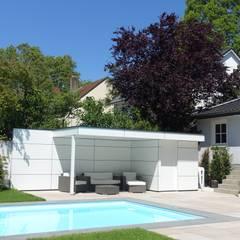 Garden Shed by Gartenhauptdarsteller, Modern لکڑی پلاسٹک جامع