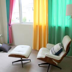 MSBT 幔室布緹:  tarz Küçük Yatak Odası, İskandinav Orta Yoğunlukta Lifli Levha