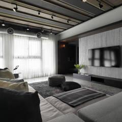 Walls by 子境室內裝修設計工程有限公司, Industrial