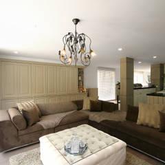 Strakke landelijk interieurinrichting Landelijke woonkamers van Marcotte Style Landelijk