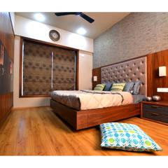 Minimalist bedroom by Nikhil Kanthe Minimalist