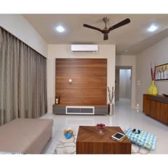 Salas de estilo minimalista de Nikhil Kanthe Minimalista