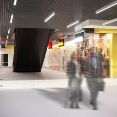 Интерьер торгового центра в г. Пенза *Kvartal*: Торговые центры в . Автор – Дизайн - Центр, Минимализм