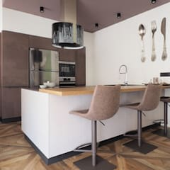 Kitchen by ARCHISPRITZ, Eclectic