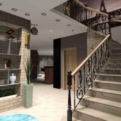 Projeto Completo casa em Monção. Salas de estar clássicas por Arch Design Concept Clássico