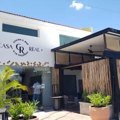 Casa Real  . Restaurante: Restaurantes de estilo  por JL DISEÑO Y CONSTRUCCION SA DE CV, Moderno