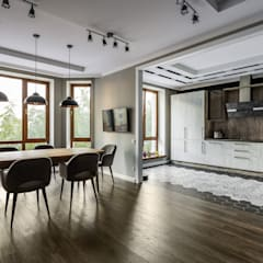 Built-in kitchens by Ремонт и дизайн квартир с ICON, Industrial