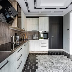 Kitchen units by Ремонт и дизайн квартир с ICON, Industrial
