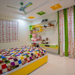 Modern nursery/kids room by Nabh Design & Associates Modern Plywood