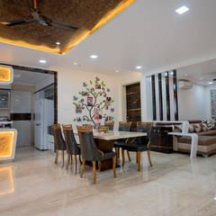 توسط Nabh Design & Associates مدرن مس/ برنز/ برنج
