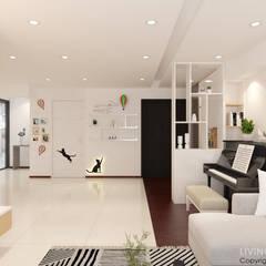Buangkok Link:  Corridor, hallway by Swish Design Works,Modern