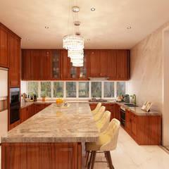 Projeto de interiores - Cascais Cozinhas modernas por Alpha Details Moderno