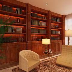 Projeto de interiores - Cascais Escritórios modernos por Alpha Details Moderno