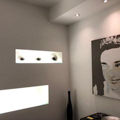 Soul Chic Beauty institute:  Gezondheidscentra door MEF Architect, Modern Glas