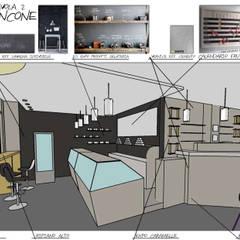 Офисы и магазины в . Автор – Daniele Piazzola architetto e designer a Como, Модерн