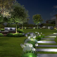 Adriana Pedrotti -Verde Progetto의  정원, 지중해