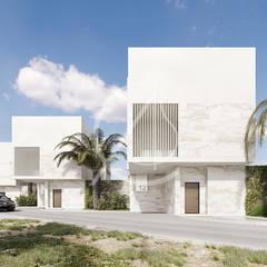 Vacation Compound Design:  Villas by Comelite Architecture, Structure and Interior Design , Modern