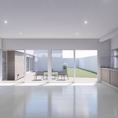 CASA BG: Garajes de estilo  por ARBOL Arquitectos ,Minimalista