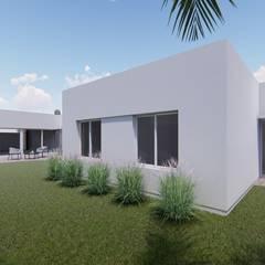 CASA BG Jardines minimalistas de ARBOL Arquitectos Minimalista
