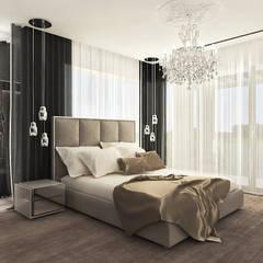 POWER OF DESIGN | IV | Wnętrza domu Nowoczesna sypialnia od ARTDESIGN architektura wnętrz Nowoczesny