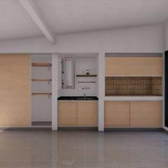 Refacción y ampliación CASA BC: Garajes de estilo  por ARBOL Arquitectos ,Minimalista