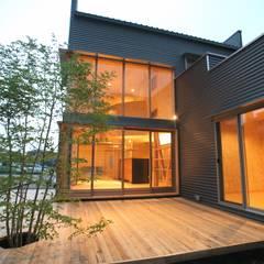 株式会社高野設計工房의  목조 주택, 북유럽