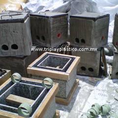 Triplay Plástico Paredes y pisos de estilo industrial de Triplay Plástico Industrial Plástico