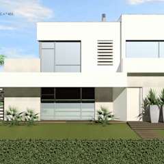 CASA DA LAGOA | Lagoa de Albufeira, Sesimbra por ATELIER OPEN ® - Arquitetura e Engenharia Minimalista Betão