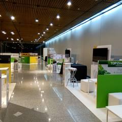 MERCOSOJA 2019: Centros de exposiciones de estilo  por Faerman Stands y Asoc S.R.L. - Arquitectos - Rosario,Moderno