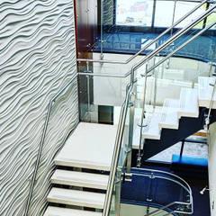 Revestimiento para pared 3D.OFICINAS Estudios y oficinas industriales de Wallartes3d Industrial Concreto reforzado