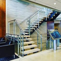 Revestimiento para pared 3D.OFICINAS Estudios y oficinas modernos de Wallartes3d Moderno