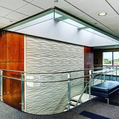 Revestimiento para pared 3D.OFICINAS Estudios y oficinas minimalistas de Wallartes3d Minimalista