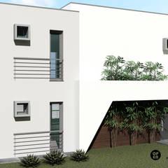 CASA TEJO | Arcena, Vila Franca de Xira por ATELIER OPEN ® - Arquitetura e Engenharia Minimalista OSB
