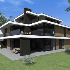 villa // Nieuwveen van Studio FLORIS Modern Glas