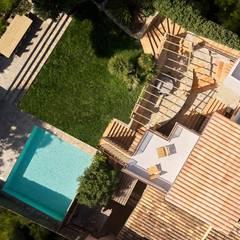 Country house by Minimal Studio, Mediterranean Stone