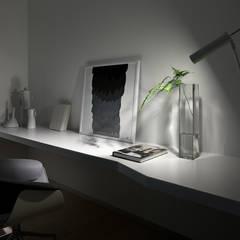 БЕЗДОГАННИЙ МІНІМАЛІЗМ:  Small bedroom вiд Design Studio Yuriy Zimenko, Мінімалістичний MDF