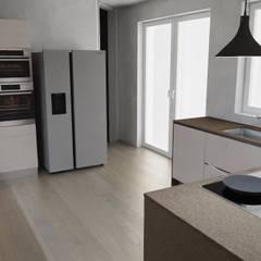 آشپزخانه توسطG&S INTERIOR DESIGN, صنعتی