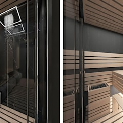 Sauna by ARTDESIGN architektura wnętrz, Modern